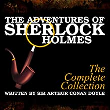 The Adventures of Sherlock Holmes Audiobook by Sir Arthur Conan Doyle Narrated by A. Cromwell, James Allen