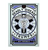 Gift Republic Deadly Disease Trumps Card Game