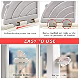 Sliding Door Lock for Child Safety(6Pack),Baby
