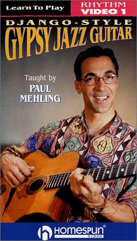 Learn To Play Django-Style Gypsy Jazz Guitar Vol 1 - Vol 1 Guitar Vhs