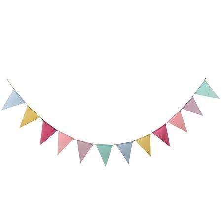 12 banderines coloridos para decoración de fiestas de ...