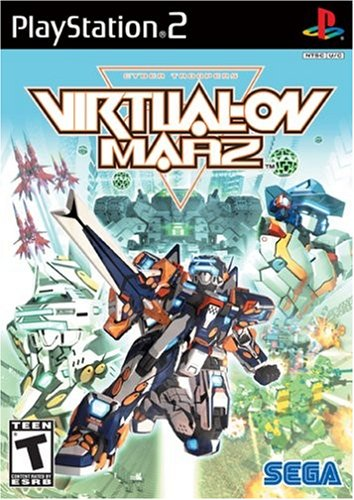 Virtual on Marz - PlayStation - Virtual On