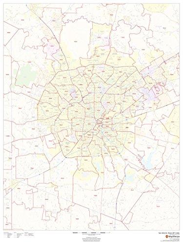 San Antonio, Texas Zip Codes - 36