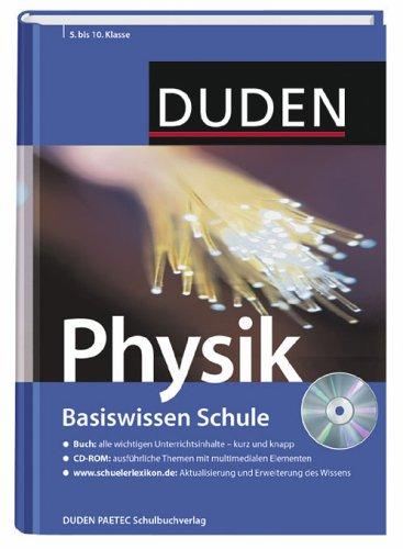 Physik: 5. Klasse bis 10. Klasse, inkl. [CD-Rom]