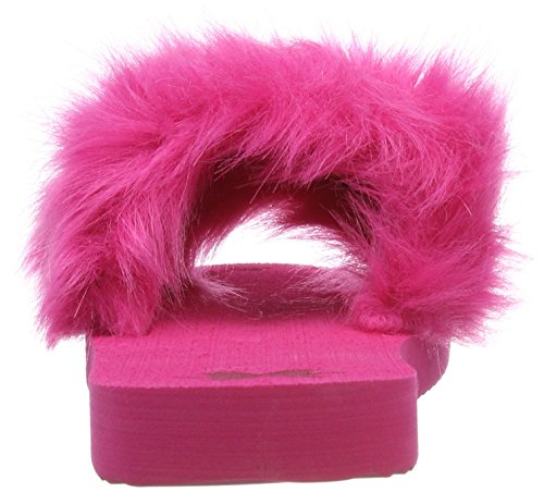 Pool Very 2230 Ouvert Rose Pink flip Bout Femme Fur flop Slim 1Tx8nqpE