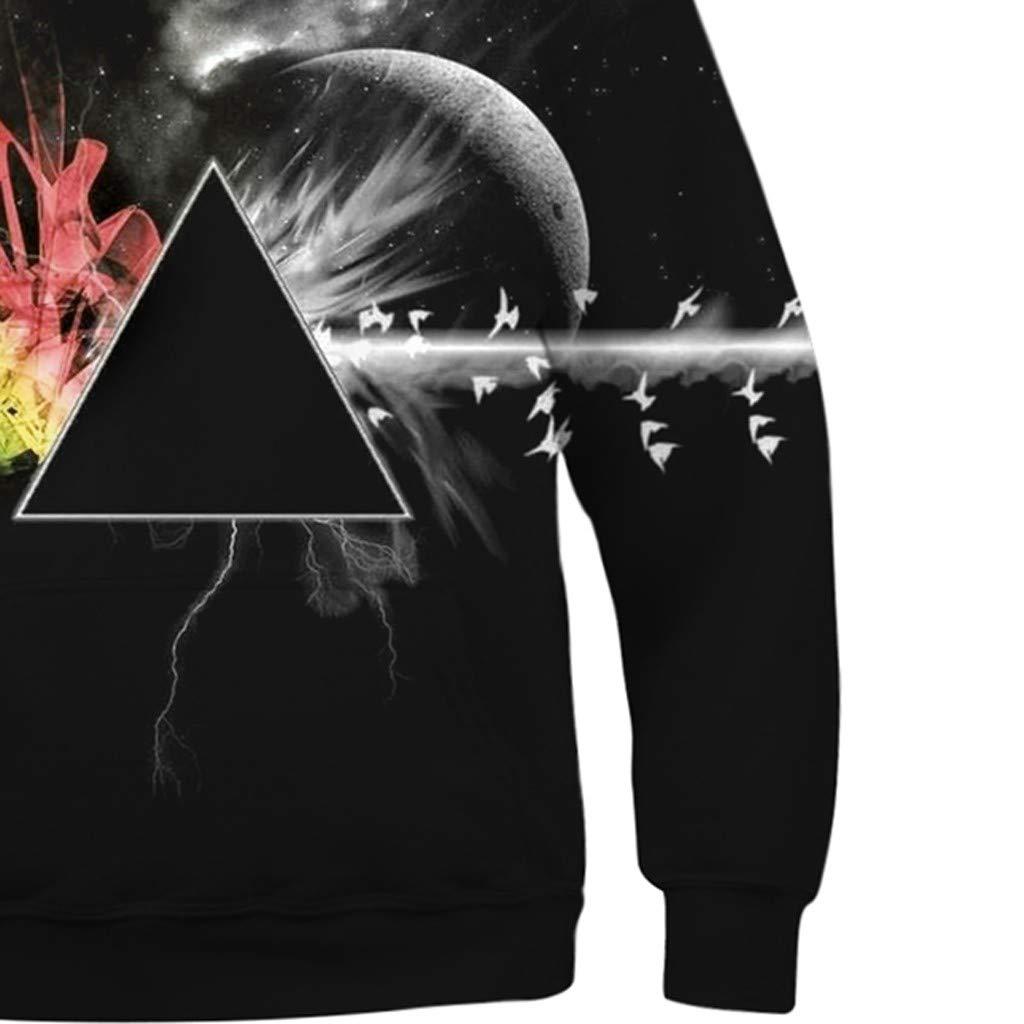 Teen Kids M/ädchen Junge Galaxy 3D Druck Cartoon Fleece Sweatshirt Tasche Pullover mit Kapuze Huhu833 Kinder Sweatshirts