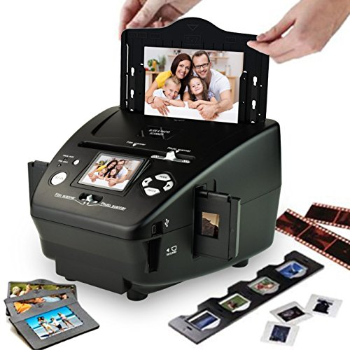 DIGITNOW 35mm /135slides&Negatives Film Scanner Photo, Name Card, Slides and Negatives to Digital Converter for Saving Films to Digital Files in 4GB SD card(Included) with Photo Editing Software by DigitNow! (Image #1)