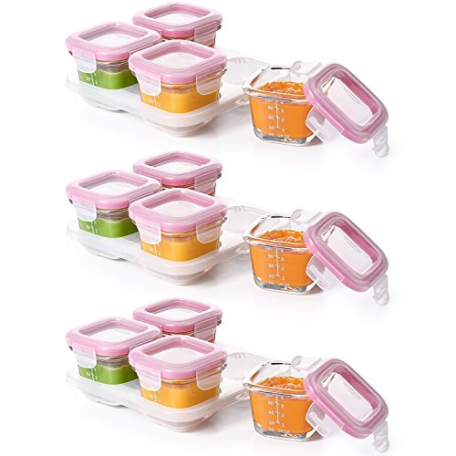 oxo 4 oz baby food containers - 7
