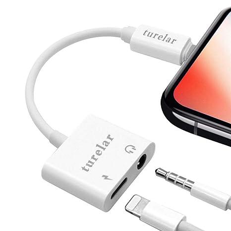 Adattatore per cuffie per iPhone 7 / 7Plus iPhone 8 / 8Plus iPhoneX XS XS  Max XR Adattatore per cuffie da 3,5 mm Audio per iPhone iPad Splitter