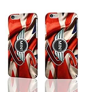 "New Mini Logo Cooper 3D Rough iphone Plus 6 -5.5 inches Case Skin, fashion design image custom iPhone 6 Plus - 5.5 inches , durable iphone 6 hard 3D case cover for iphone 6 (5.5""), Case New Design By Codystore"