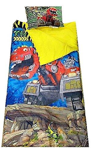 Dinotrux 2-Piece Sleepover Nap Mat Set Idea Nuova