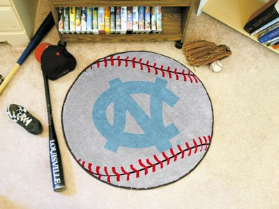 (UNC University of North Carolina - Chapel Hill Baseball Rug)