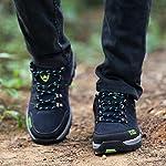 Chaussures de Randonnée Outdoor pour Hommes Femmes Basses Trekking et Les Promenades Sneakers Verte Bleu Noir 36-47 9