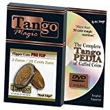 MMS Flipper Coin Pro 2 Euro/50 Cent Euro (with DVD)by Tango -Trick (E0079) by M & M's