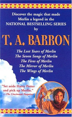 book cover of T.A. Barron Set
