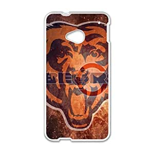 Happy Bear Design Fashion Comstom Plastic case cover For HTC One M7