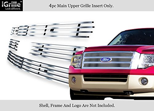 APS for 2007-2014 Ford Expedition Stainless Steel Billet Grille Grill Insert #F65321C