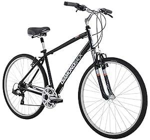 "Diamondback Bicycles 2016 Edgewood Complete Hybrid Bike, Dark Green, 15"" Frame"