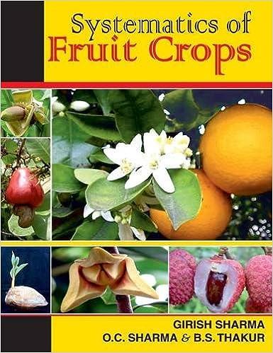 Systematics Of Fruit Crops por Girish Sharma Gratis