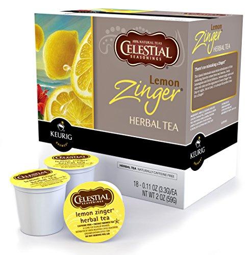 Keurig Cups Lemon Zinger Tea