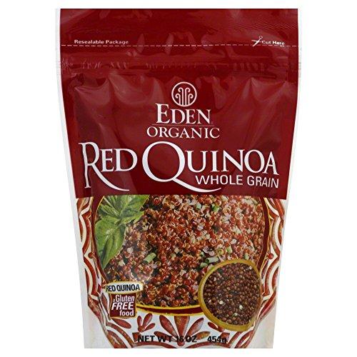 Eden Quinoa, Red Organic 16.0 OZ(Pack of 6) by Eden