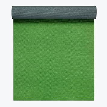 Amazon.com : Gaiam Premium 2 Color Yoga Mats 5mm Honeydew ...