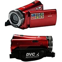 HM 2.7 TFT LCD 16MP HD 720P Digital Video Recorder Camera 16x Digital ZOOM DV,Red