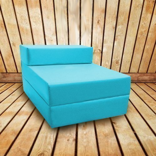Shopisfy Water Resistant Single Fold Out Z Bed - Turquoise