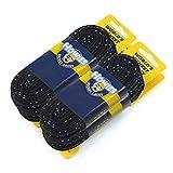 Howies Hockey Skate Laces - 1 Pack - Black Cloth