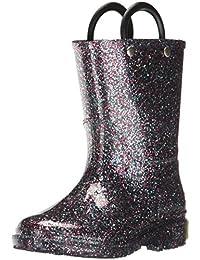 Kids' Glitter Waterproof Rain Boot