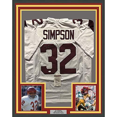 5ea39d51eff O.J. Simpson Trojans Poster, USC Trojans O.J. Simpson Poster