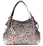 Buenocn Classic Fashion Tote Handbag Leather Shoulder Bag Perfect Large Tote Ls1193