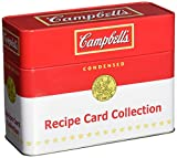 Collectible Campbells Tin with Recipe Card Collection