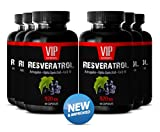 Product review for Resveratrol Plus Q10 Powder with Astragalus - Pure Grape Seed Extract Powder (6 Bottles 360 Capsules)