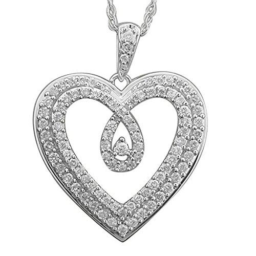 0.5 Ct Diamond Pendant - 5
