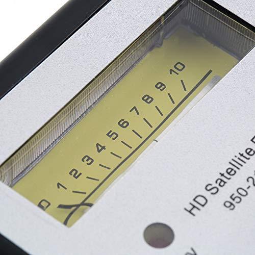 AdaAda Digital Satellite Signal Finder Meter Compass FTA TV Signal Receiver & Finder
