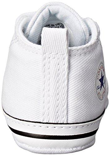 blanc Star Bianco Converse Bambino 88875 Unisex Sneaker First Twqxz06F