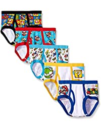 Handcraft Little Boys' Mario (Pack of 5)