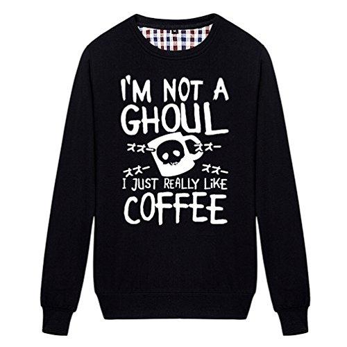 Cheap Chimpanzee Tokyo Ghoul I'm Not A Ghoul Coffee Sweatshirt