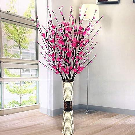 Defrwa Arreglos Florales Flor De Simulación Sala De Estar
