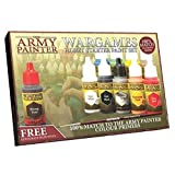 paint citadel miniatures - The Army Painter Miniatures Paint Set, 10 Model Paints Free Highlighting Brush, 18ml/Bottle, Miniature Painting Kit, Non Toxic Acrylic Paint Set, Wargames Hobby Starter Paint Set Version