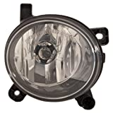 Depo 446-2005R-AQ Audi A4 Passenger Side Fog Lamp Assembly with Bulb and Socket