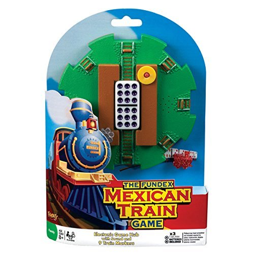ican Train Electronic Hub, Multicolored (Mexican Train Hub)