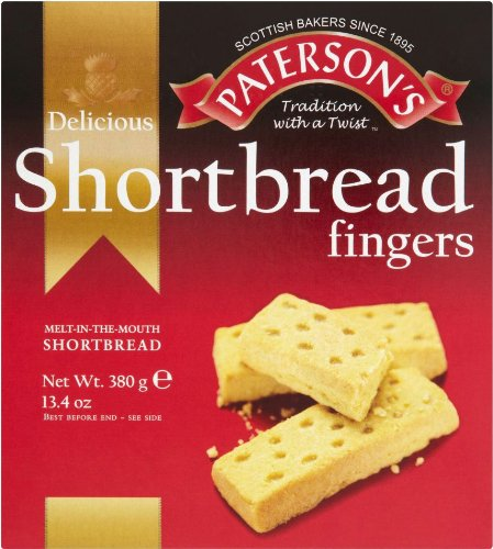 Paterson's Shortbread Fingers (3 Pack) by Paterson's