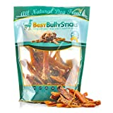 Premium Beef Tendon Bites by Best Bully Sticks (2lb. Value Pack) Dog Treats Made of All-Natural, Free Range, Grass Fed, American Beef - Packed with Vitamins and Protein to Support a Healthy Diet