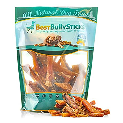 USA Beef Tendon Bites by Best Bully Sticks (2lb. Value Pack) - 2 Lb Beef