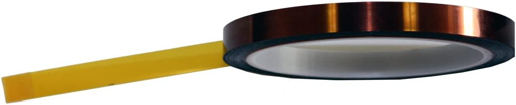Polyimide 3//8 x 36 yds Lucent Path CECOMINOD004578 1 Mil Kapton Tape