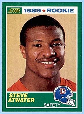 1989 Score #263 Steve Atwater RC DENVER BRONCOS ROOKIE ARKANSAS RAZORBACKS