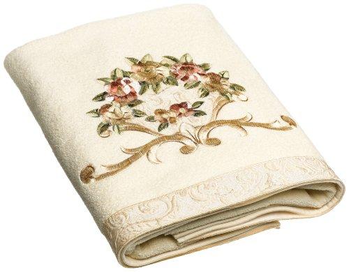 Avanti Linens Rosefan Bath Towel, Ivory from Avanti Linens