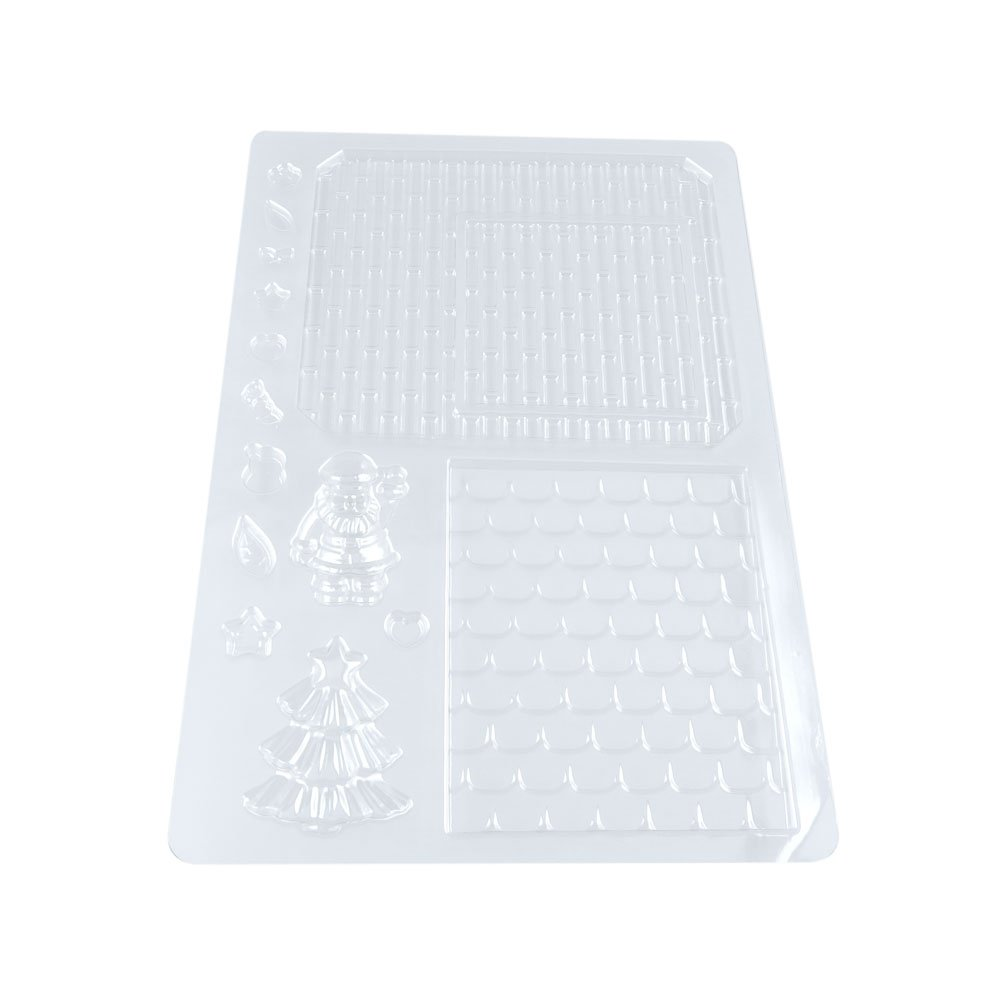 100 PCS Chocolate Molds Baby Shower Candy Making Supplies Jelly Maker Wholesale RN092 Christmas Wall Star
